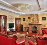 Interior  reception-room (classic style)