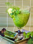 Cucumber and celery cocktail